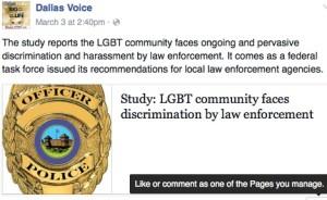 Dallas_Voice police harrasement discrimination