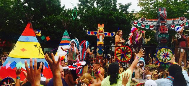 indian float gay pride